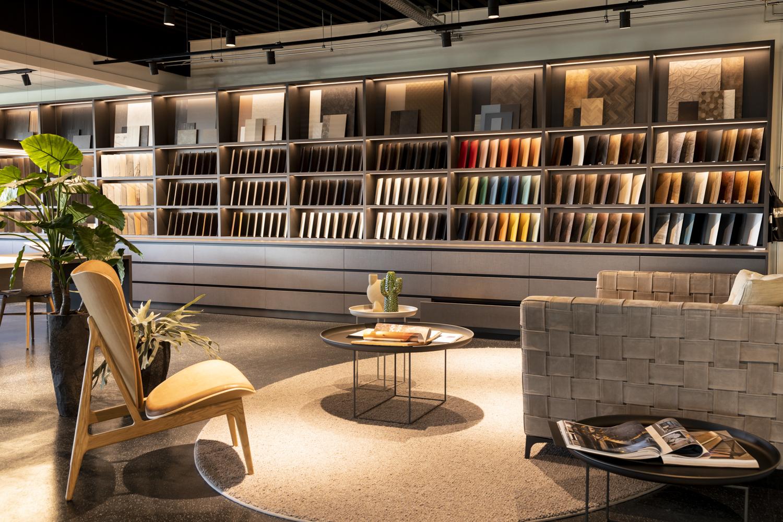Overzicht showroom DecoLegno Wormerveer